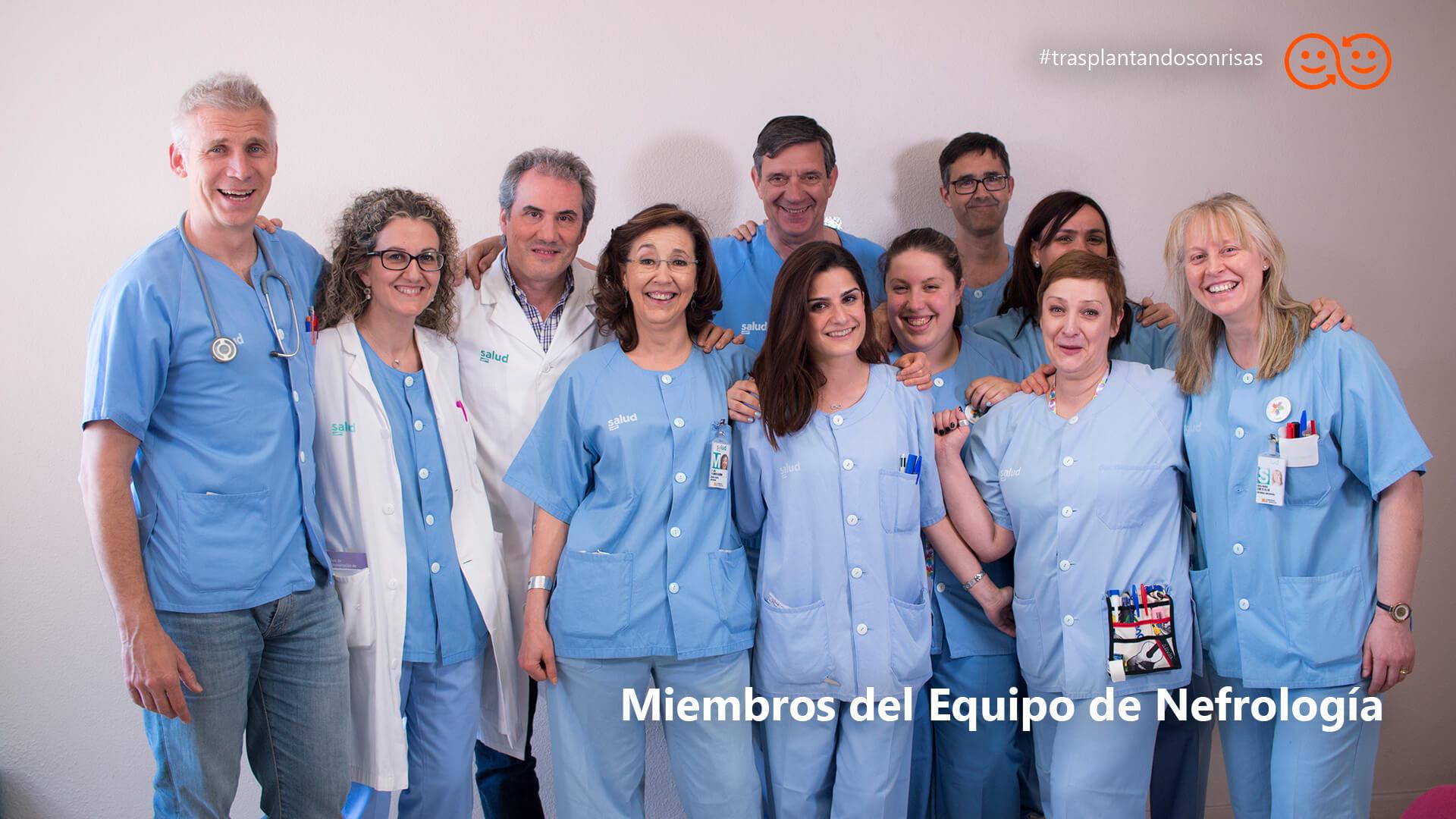 Miembros del Equipo de Nefrología